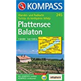 Plattensee / Balaton 1 : 50 000. Wandern/Rad. GPS-genau