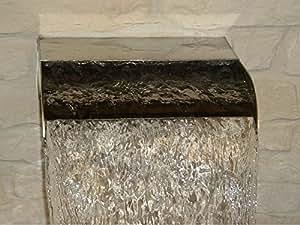 Cascade aus Metall Größe: 120 cm H x 80 cm B x 35 cm T
