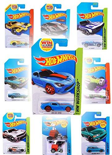 Tolles Hot Wheels Auto 10er Set