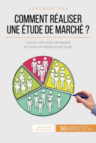 Comment réaliser une étude de marché ?: Lancez Votre Projet D'Entreprise En Toute Connaissance De Cause