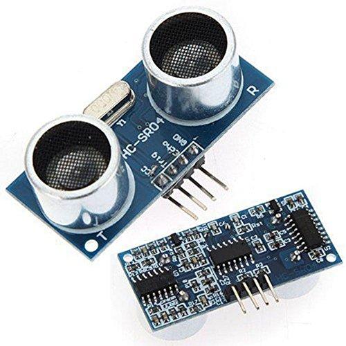 Delleu Ultraschall Modul 1/2/5x HC-SR0440kHz Induktive Abstand Sonde Ultraschall Sonde, Sensor 1 Sensor