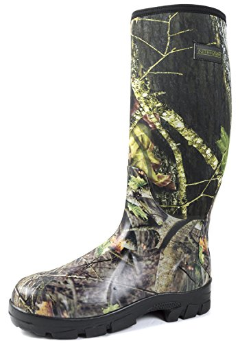 Nitehawk Camouflage Neoprene Fishing/Hunting Wellington Boots