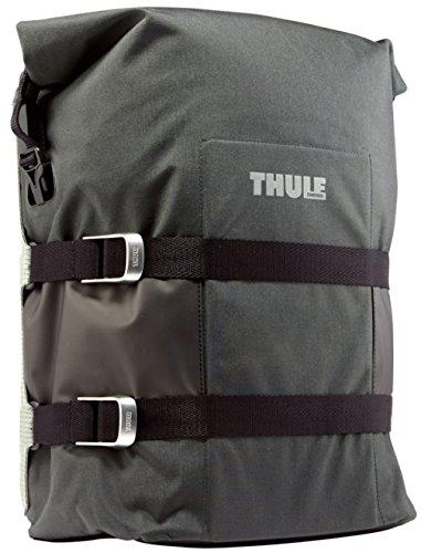 Thule - Big Adventure Saddlebag Pack N Pedal, color negro