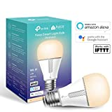 TP-Link Smart Bulb, WiFi Smart Switch, E27, 10W, Works with Amazon Alexa (Echo and Echo Dot), Google Home and IFTTT, Dimmable Soft Warm White, No Hub Required [Energy Class A+]