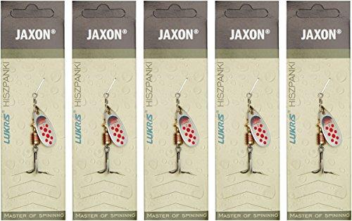 Jaxon Orion Pastell Spinner Frisches Wasser Spinning Lure–Silber, Größe 4,5g,...