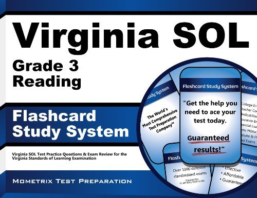 Virginia SOL Grade 3 Reading Flashcard Study System: Virginia SOL Test Practice Questions & Exam Review for the Virginia Standards of Learning Examination (Cards) by Virginia SOL Exam Secrets Test Prep Team (2013-02-14)