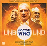 Doctor Who Unbound Masters of War CD (Dr Who Big Finish)