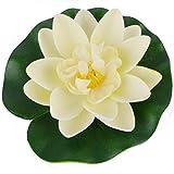 PE Water Lily Flower Decor Künstliche schwimmende Teich Pflanzen Fake