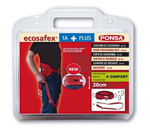 Sicherheitsgurt Ponsa Ecosafex verstellbarer und Karabinerhaken
