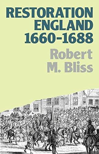 Restoration England: Politics and Government 1660-1688 (Lancaster Pamphlets)