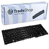 Laptop-Tastatur / Notebook Keyboard Ersatz Austausch Deutsch QWERTZ für Toshiba Satellite L350 L500 L500D L505 L505D L555 A500 A505 A505D G50 P200 P300 P305 X300 X305 (Deutsches Tastaturlayout)