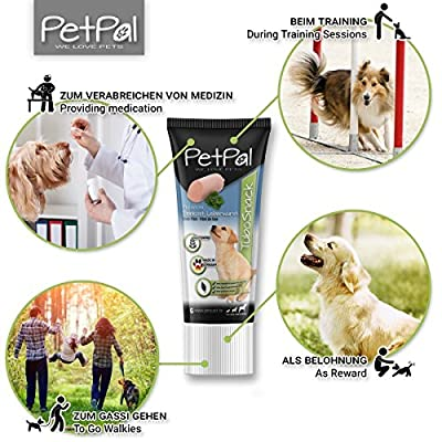 PetPäl Liver Paste For Dogs TuboSnack | Premium Liver Treats For Your Dog - Also Great for Puppies | Natural Dog Snack - Made in Germany | Grain Free | Easy to Dose from PetPäl