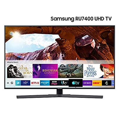 Samsung UE50RU7400UXXU 50-inch RU7400 Dynamic Crystal Colour HDR Smart 4K TV
