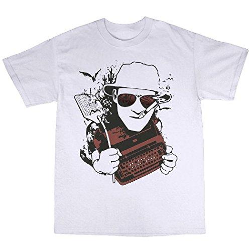 Hunter S. Thompson T-Shirt Baumwolle Weiß