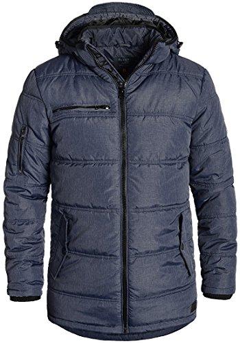 BLEND Borisov - Giacca invernale da Uomo, taglia:S;colore:Navy (Chic Giacca Trapuntata)