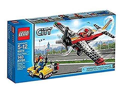 Lego City Airport 60019 - Aereo Acrobatico, 5-12 Anni