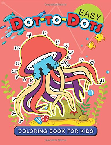 ring Book for Kids: connect the dot Animal Coloring Books for Ages toddlers 2-4, 4-8, 9-12 (Pet, Farm Animal and Sea life) ()