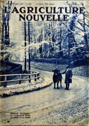 Le Mas Des Tilleuls - AGRICULTURE NOUVELLE (L') [No 1603] du 16/01/1932