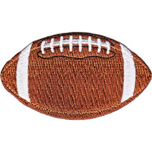 Sports FOOTBALL, Officially Licensed Original Artwork, Premium Quality Iron-On / Sew-On, 3.5