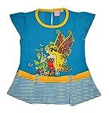 Myfaa Girls' Dress, Set of 1 (FR5572-Blu...