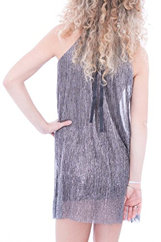 ONLY - Robe femme sans manches new blair tunic dress Argent