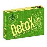 Disintossicante - DetoX | Cvetita Herbal UK - 30 compresse con vitamina C, estratto di tè verde, cardo | Disintossicazione: la missione è possibile | Disintossicare efficacemente le tossine del fegato, rilassare l'assistenza sanitaria Rimuovere le tossine dal corpo e alleviare lo stress