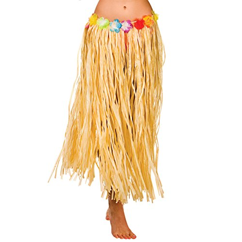 Hula-Skirt-80cm-Natural