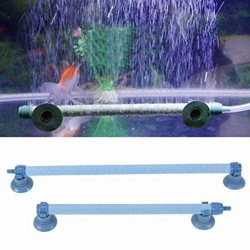 Rabusion 25,4cm Fisch Tank Aquarium Luft Stein Blase Wand Belüftung Tube Sauerstoff Pumpe
