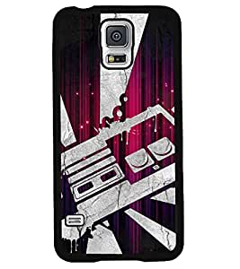 Fuson 2D Printed Designer back case cover for Samsung Galaxy S5 - D4506