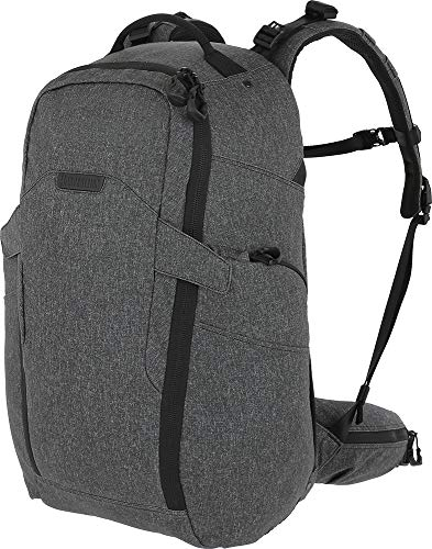 Maxpedition Entity 35 CCW-Enabled Internal Frame Backpack 35L, Charcoal -
