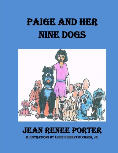 Paige and Her Nine Dogs