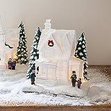 Décoration Maison pour Village de Noël Lumineux par Lights4fun