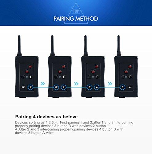 for 3 People Referee BT intercom FBIM 3set Football Referee Full Duplex Bluetooth Interphone 1200M Synchronous Intercom Paired Wireless Full-duplex Wireless