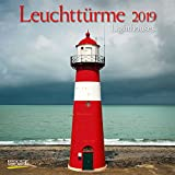 Leuchttürme 2019: Broschürenkalender mit Ferienterminen. Leuchtturm und Küste. 30 x 30 cm - Wandkalender