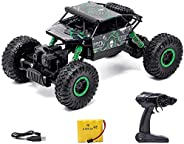 Zest 4 toyz 2.4Ghz 1/18 RC Rock Crawler Vehicle Buggy Car 4 WD Shaft Drive High Speed Remote Control Monster O