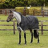 Horseware Rhino WUG 450g Heavy Vari- Layer Regendecke Black/Grey (155)
