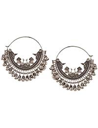 Zephyrr Drop Earring for Women (Silver)(Jae-1317)
