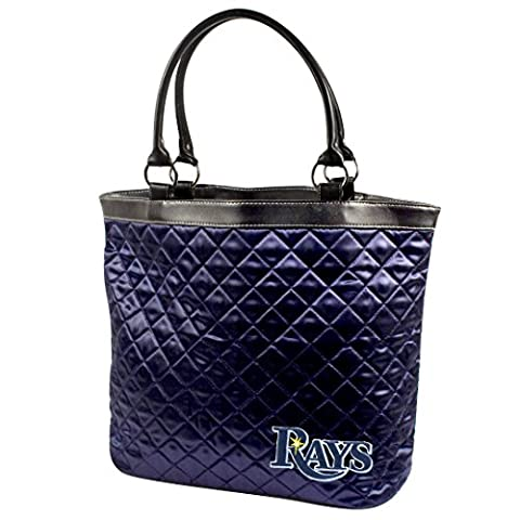 MLB Tampa Bay Rays Quilted Tote, Navy