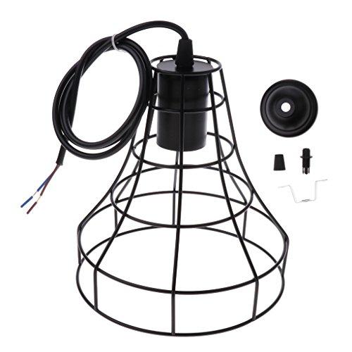 LOVIVER Kreative Kronleuchter Lampenschirm Deckenleuchte Schatten Abdeckung - Typ 3 - Die 3 Hellen, Rustikalen Kronleuchter