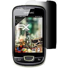 atFoliX Filtro de Privacidad Samsung Galaxy mini (GT-S5570i) Película de Privacidad - FX-Undercover