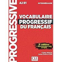Vocabulaire Progressif Du Français. Niveau Intermédiare -  3ª Édition (+ CD) (Progressive du français)