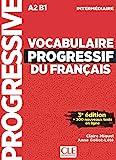 Vocabulaire progressif du français - Niveau intermédiaire - 3ème édition - Livre + CD + Appli-web