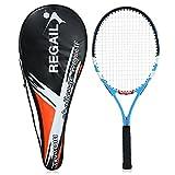 Festnight Carbon Tennis Racket Indoor Outdoor Training Tennis Racquet with Cover Bag