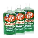 Dr. Becher Becharein - Detergente concentrato per bicchieri, 3 flaconi da 1 litro
