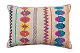 Colorful Bohemian Style Linen Pillow cov...