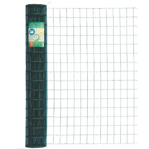Maschenweite: 150 x 90 mm GAH-Alberts 611842 Ziergeflecht Rondo 400 mm H/öhe gr/ün 10 m Rolle
