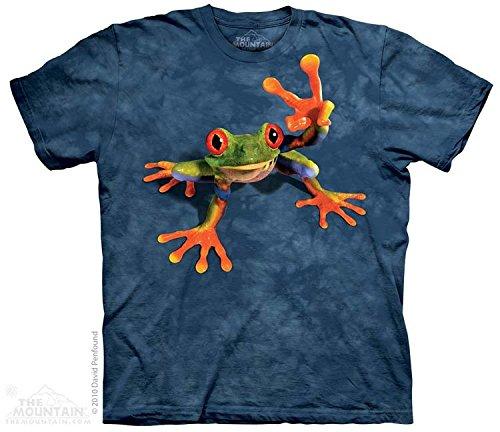 the-mountain-camesita-victory-frog-amphibian-adulte-unisexo-bleu-medium-child