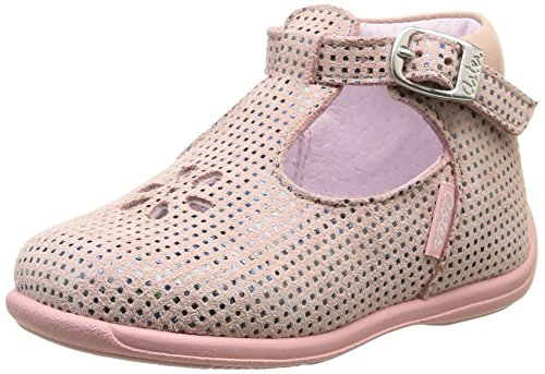 Aster Odjumbo, Chaussures premiers pas bébé fille Rose (Rose Nude)