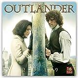 Outlander 2019 - 18-Monatskalender: Original BrownTrout-Kalender [Mehrsprachig] [Kalender] (Wall-Kalender) - BrownTrout Publisher