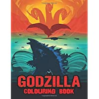 Godzilla Colouring Book: Over 40 Colouring Pages Of Godzilla The King of Monster ,... To Inspire Creativity And Relaxation. A Perfect Gift For Kids And Adults